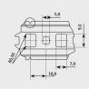 Profil PVC 25x11x2 długość 1 metr