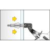 Kołek metalowy HRM do płyt G-K